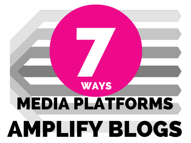 7 Ways Media Platforms Amplify Blogs / Curation