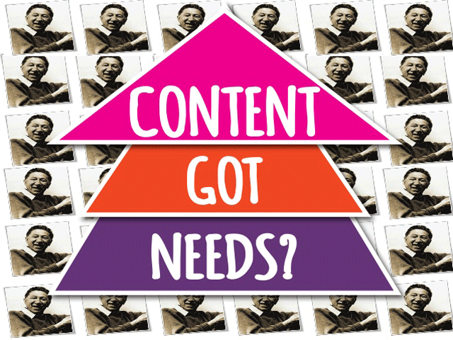 Maslow & Marketing : Digging into the Human Side of Content